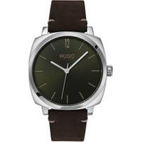 Relógio Hugo Boss Masculino Couro Marrom - 1530068