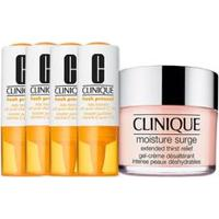 Kit Facial Clinique Fresh Pressed Vitamina C + Hidratante Moisture Surge Extend Thirt Relief