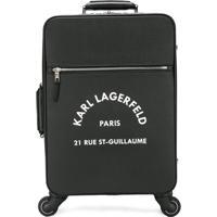 Karl Lagerfeld Mala Com Estampa De Logo - Preto