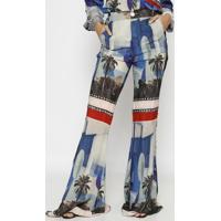 Calã§A Pantalona Rio- Azul & Vermelhatig