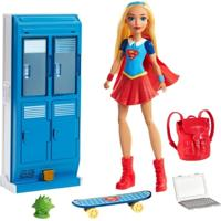 Playset Dc Super Hero Girls - Armário Escolar - Supergirl - Mattel - Feminino