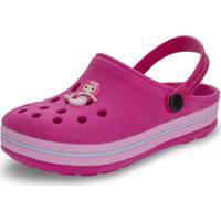 Clog Infantil Nilqi - 072 Pink 01 31/32