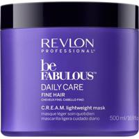 Revlon Professional Be Fabulous Lightweight - Máscara Para Cabelos Finos 500Ml - Unissex-Incolor