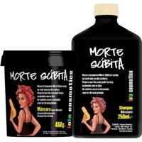 Lola Cosmetics Morte Súbita Kit - Shampoo + Máscara Kit - Unissex-Incolor