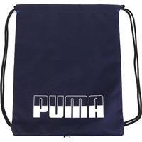 Sacola Puma Plus Gym Sack Ii - Unissex-Marinho+Azul