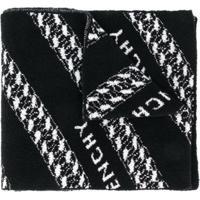 Givenchy Echarpe Texturizada Com Padronagem - Preto