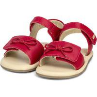 Sandália Infantil Bibi Afeto Vermelha - 1084086