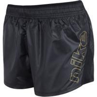 Shorts Nike 10K Glam Gx - Feminino - Preto
