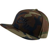 31943b0695 ... Boné Nike Aba Reta Sb Icon - Unissex-Verde Militar