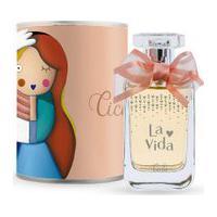 Perfume Ciclo Lata La Vida Feminino Deo Colônia 100Ml Único