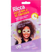 Máscara Facial Ricca Relaxante Para Área Dos Olhos Keep Calm E Xô Canseira 38G