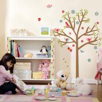 Adesivo De Parede Árvore Infantil
