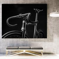 Poster Ou Tela Mdf - Black Bike