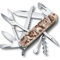 Canivete Huntsman Camuflado Com 15 Funã§Ãµes- Inox & Marrovictorinox