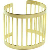Bracelete Turpin Vazado Dourado