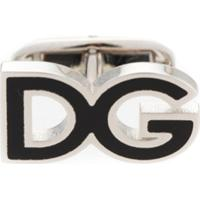 Dolce & Gabbana Abotoaduras Com Logo - Metálico