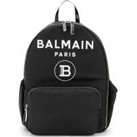 Balmain Kids Bolsa Maternidade Com Estampa De Logo - Preto