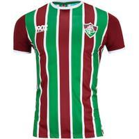 Camiseta Do Fluminense Attract 19 - Masculina - Vinho/Verde