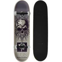 a875b30ba01 Netshoes  Skate Completo Iniciante Progress - Pgs Caveira - Unissex