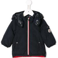 Moncler Kids Padded Coat - Azul