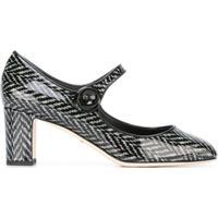 Dolce & Gabbana Sapato Boneca Modelo 'Vally' - Preto
