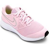 Tênis Infantil Nike Star Runner 2 Gs - Unissex-Pink+Prata