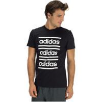 Camiseta Adidas C90 Brd - Masculina - Preto