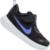 Tênis Para Bebê Nike Revolution 5 Glitter Tdv - Infantil - Preto/Azul