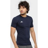 Camiseta Kappa Térmica Embrace Masculina - Masculino-Marinho