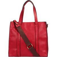 Bolsa Shopping Bag Alongada Mormaii Com Alça Nylon - 23045 Vermelho