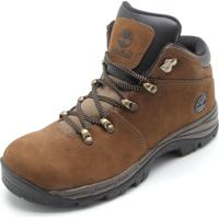 Bota Couro Timberland Trail Valley M Washed Br Marrom