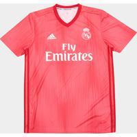 Netshoes  Camisa Real Madrid Third 2018 S N° - Torcedor Adidas Masculina -  Masculino b8a767bd843d5