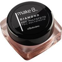 Make B. Sombra Foil Multiefeito Diamond Glamour 4G