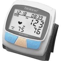 Medidor De Pressão Arterial Bioland - Lcd Extra Grande Para Melhor Visualização, 128 Posições De Memória (Data, Hora, Pulso E Pressão) Modelo 3002
