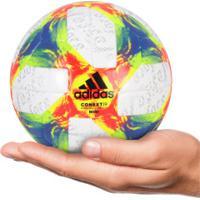 Minibola De Futebol De Campo Adidas Conext19 - Branco/Verde Cla