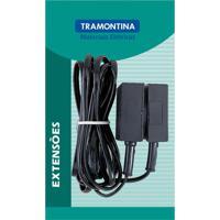 Extensão Telefônica Lisa Preta 5M 57401822 - Tramontina - Tramontina