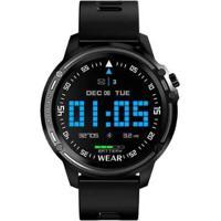 Smartwatch Monitor Cardíaco Pedômetro Resistente À Água Ip68 - Unissex