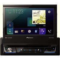 Dvd Player Pioneer Retrátil Usb Avh-Z7080Tv Fullhd Bluetooth Waze App Spotify