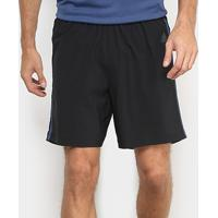 Short Adidas Response 7 Pol. Masculino - Masculino-Preto+Azul