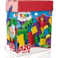 Blocos De Montar - Tand Kids - Baú Com 120 Peças - Toyster