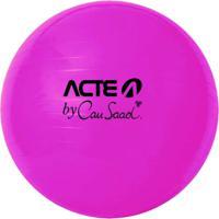 Bola Para Pilates 65Cm Anti Estouro Gym Ball By Cau Saad - Acte Sports Cau4