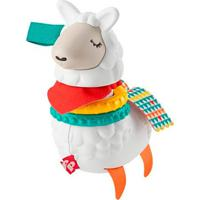 Fisher Price Chocalho Lhama Divertida Click Clack - Mattel - Kanui