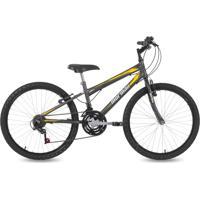 Bicicleta Mormaii Aro 24 Mtb 21V New Wave - Grafite