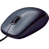 Mouse Com Fio Preto Logitech M90