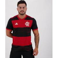 Camisa Adidas Flamengo I 2020 - Masculino-Preto