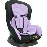 Cadeira Para Auto Lilás E Preto - Crianças De 0 A 18Kg, 3 Posições.