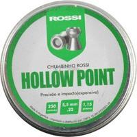 Chumbinho Rossi Hollow Point 5.5Mm 250Un. - Unissex