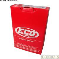 Pastilha Do Freio - Ecopads - Alfa Romeo 164 3.0 V6 1991 Até 1996 - Girling - Dianteiro - Jogo - Eco-1295