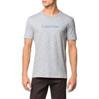 Camiseta Regular Basica Flame Mescla - Azul Claro - Pp