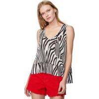 Blusa Estampa Zebra Est Tigre - M